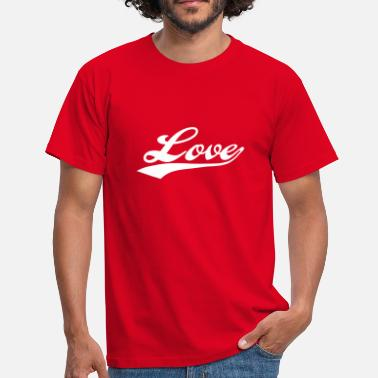 I Love You LOVE - i love you - T-shirt Homme