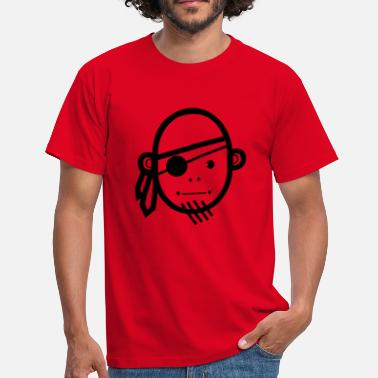Surf Pirate Pirate, navire - T-shirt Homme