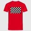 Grand Prix Checkerboard - Men's T-Shirt