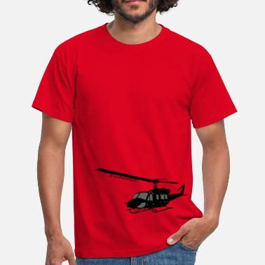 Helicopter Bell 212 - Men's T-Shirt