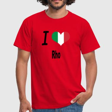 I Love Italy Home Rho - Men's T-Shirt