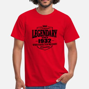 1932 Legendarisk sedan 1932 - T-shirt herr