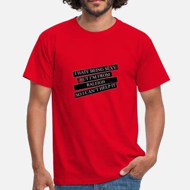 Raleigh Motive for cities and countries - RALEIGH - Men's T-Shirt