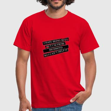 Motive for cities and countries - RICHMOND - Men's T-Shirt