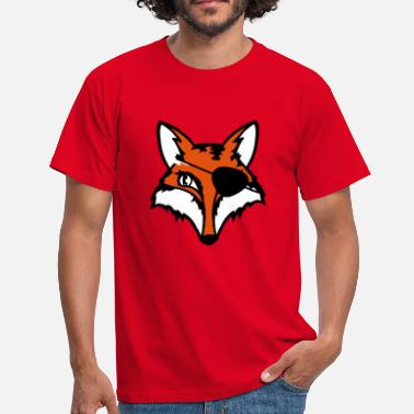 Eye Patch The fox with an eye patch - Men's T-Shirt