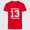 Official teenager 13th birthday gift - Men's T-Shirt