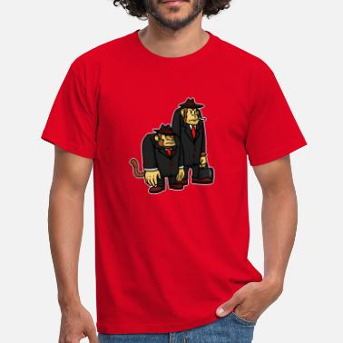 China Sterrenbeeld aap - Mannen T-shirt