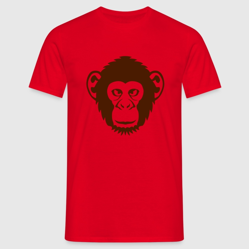 singe chimpanze animal sauvage dessin 27 - T-shirt Homme