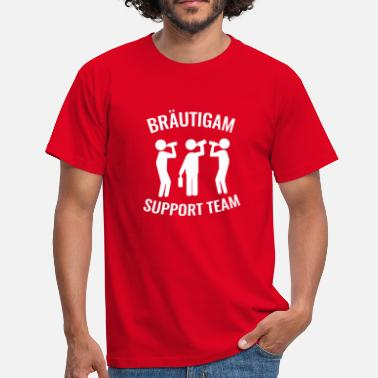 Support Team Groom Support Team - Men's T-Shirt