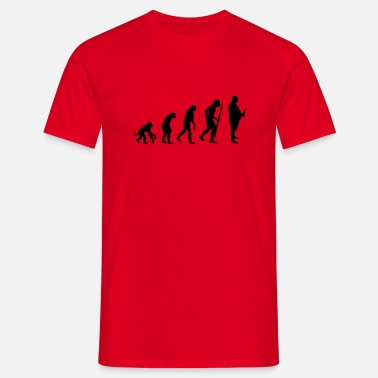 Modern History Evolution of the modern men - Men's T-Shirt