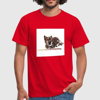 Agility Border Collie - Männer T-Shirt