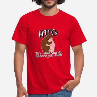 Bear Hug bear hug - Men's T-Shirt