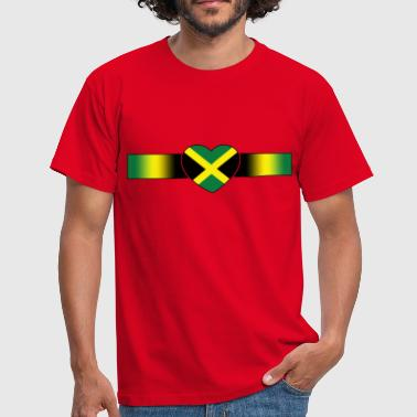 coeur jamaica - Men's T-Shirt