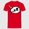 sleepy Thought Bubble  - Men's T-Shirt