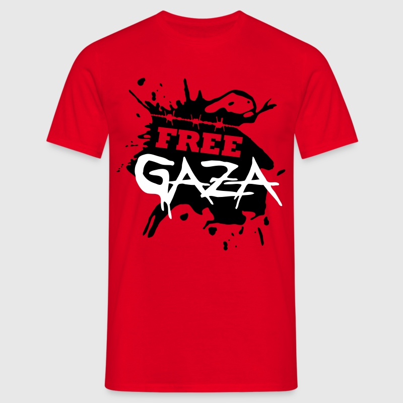Free Gaza - Men's T-Shirt