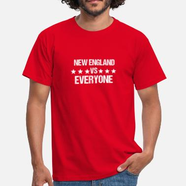 NEW ENGLAND vs all sports gift gift idea - Men's T-Shirt