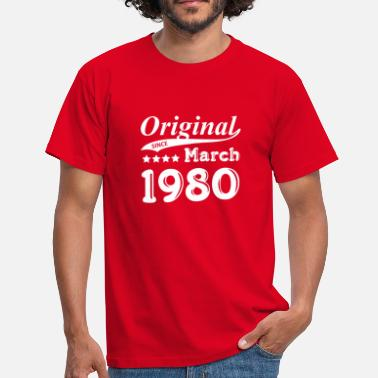 1980 Original Sedan mars 1980 Gift - T-shirt herr