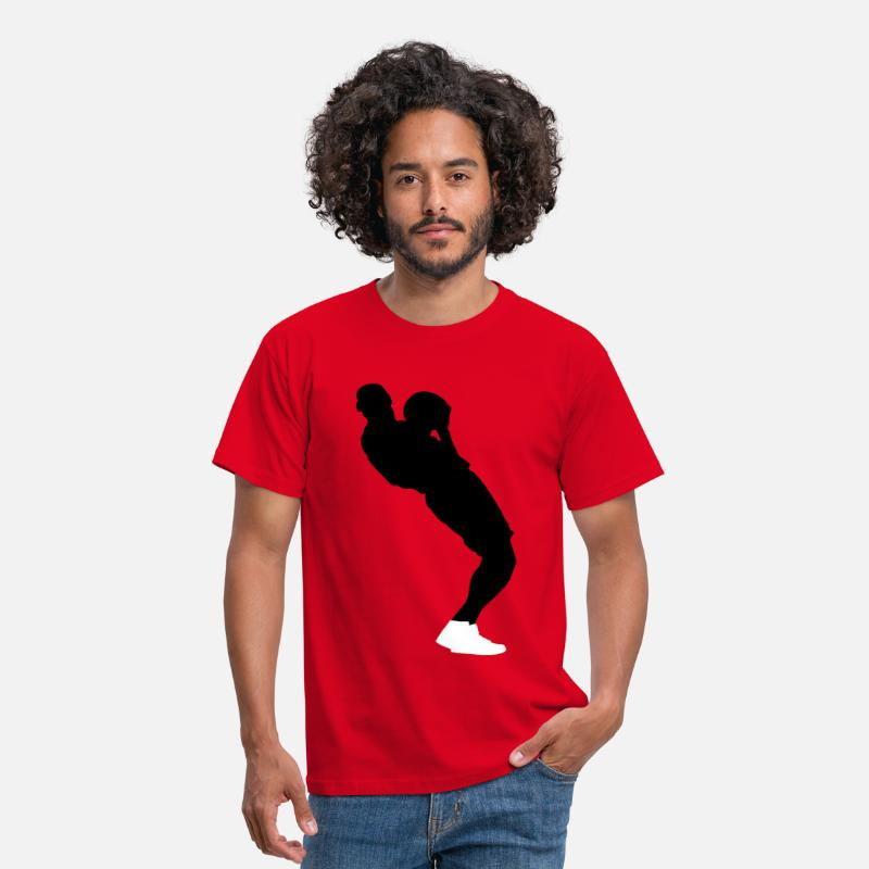 "Basket T-shirts - 23 ""limited edition"" - T-shirt Homme rouge"