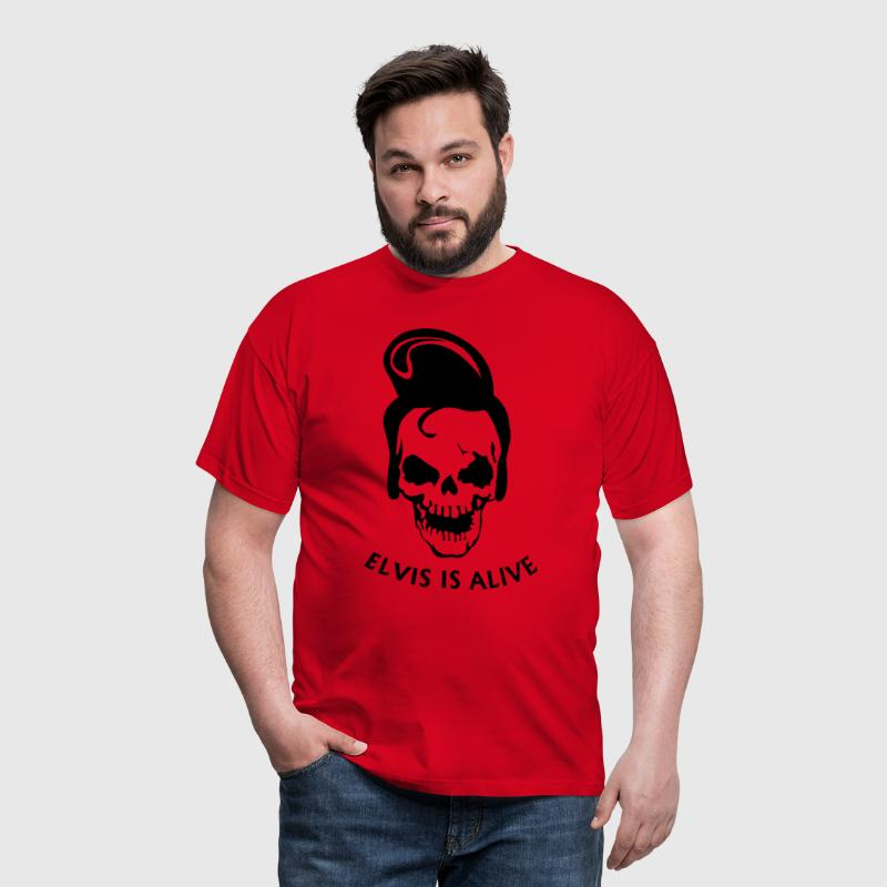 Elvis is alive - T-shirt Homme