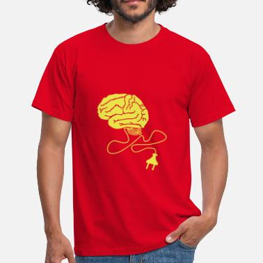 Neurology Brain Powerplug - Men's T-Shirt