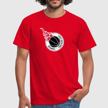 Street Basketball Street basketball champion 3c. - Men's T-Shirt