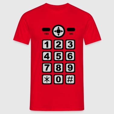 mobile phone - T-shirt Homme