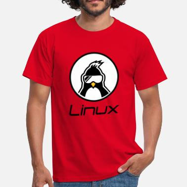 Linux Penguin linux - Men's T-Shirt