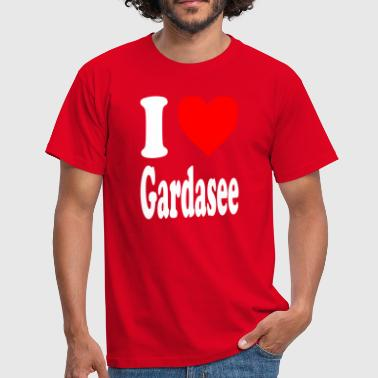 I love Lake Garda - Men's T-Shirt