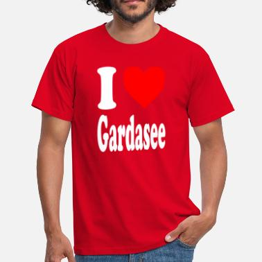 Bardolino I love Lake Garda - Men's T-Shirt