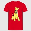 Funny Airedale Terrier - Männer T-Shirt