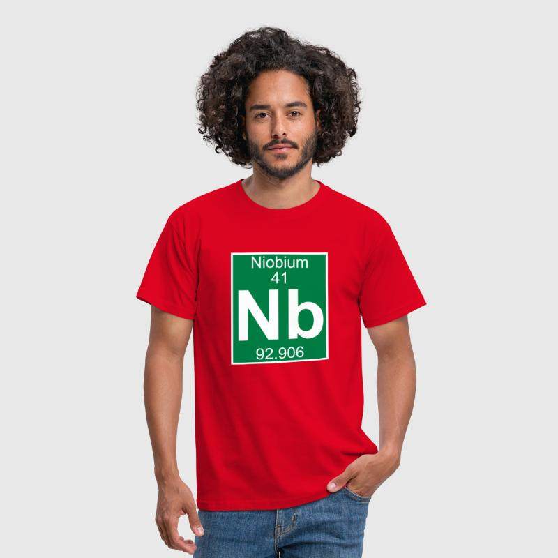 Niobium (Nb) (element 41) - Men's T-Shirt