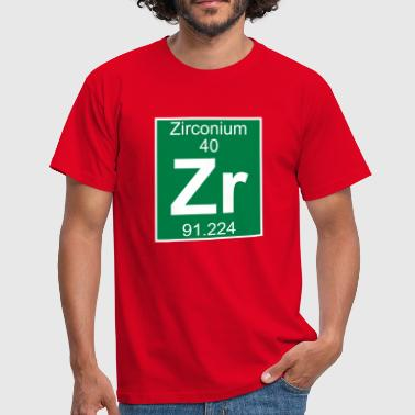 Zirconium (Zr) (element 40) - Men's T-Shirt