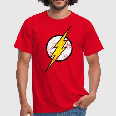 Logo DC Comics Justice League Flash Logo - Männer T-Shirt