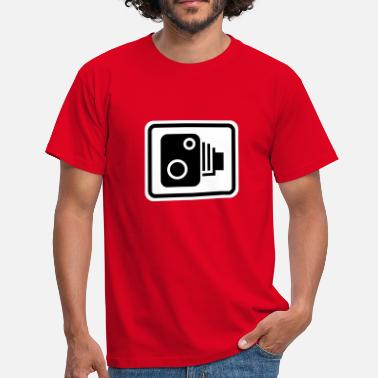 Speed Sign Speed Camera Sign - Men's T-Shirt