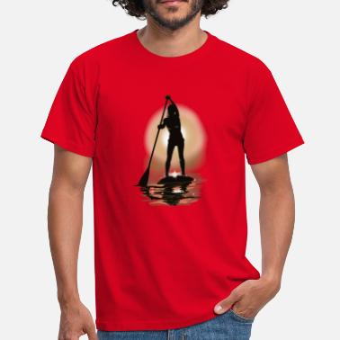 Surf paddle boarding - Camiseta hombre