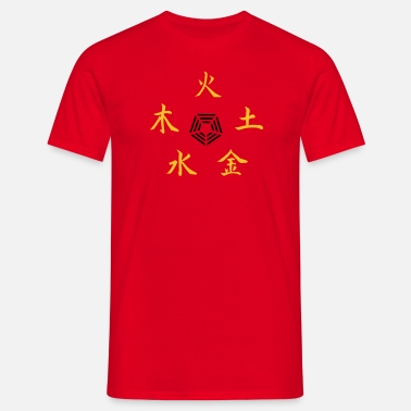 Yang Five Elements - Herre-T-shirt