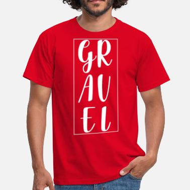Gravel Gravel Cyclist - Men's T-Shirt