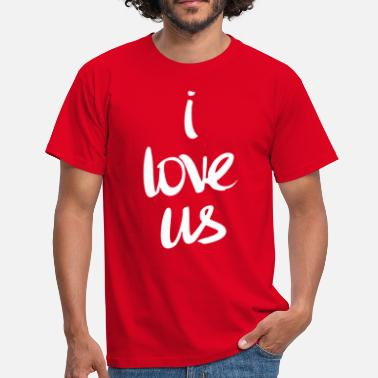 Love Us I love us (dark) - Men's T-Shirt