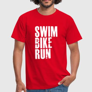 Sbr SwimBikeRun - Men's T-Shirt