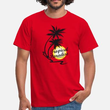 Guadeloupe TROPICAL PARADISE - T-shirt Homme