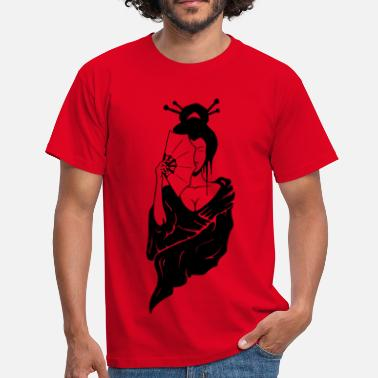 Geisha Geisha - Men's T-Shirt