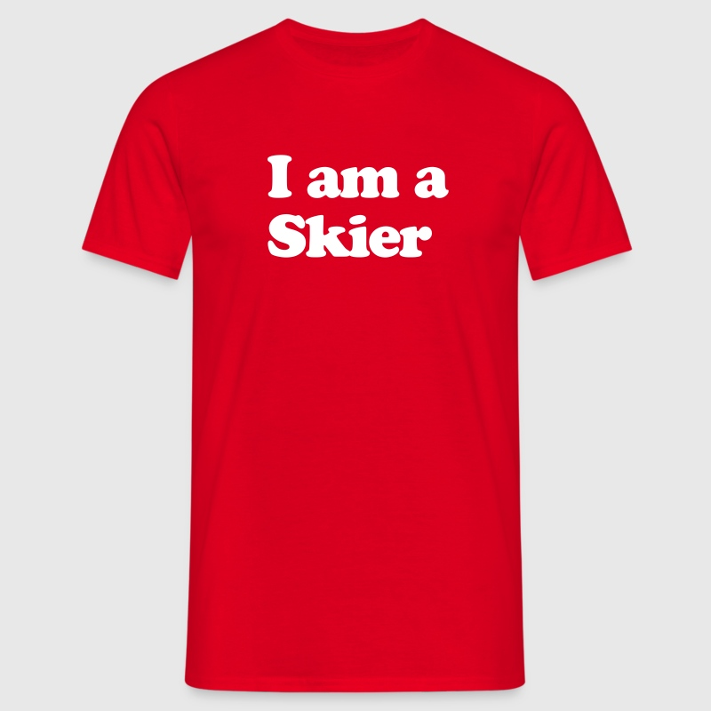 I AM A SKIER - Men's T-Shirt