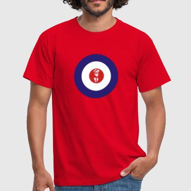 2 Tone Music Mod - Men's T-Shirt