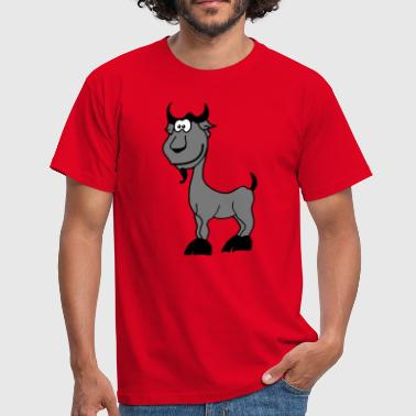 Chamois Chèvre Signe zodiacal comique animal - T-shirt Homme