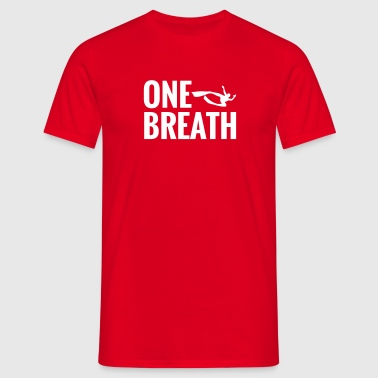 One Breath Freedive Apnea - Camiseta hombre