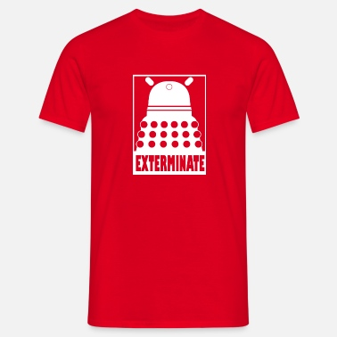 Matt Smith Exterminate - Men's T-Shirt