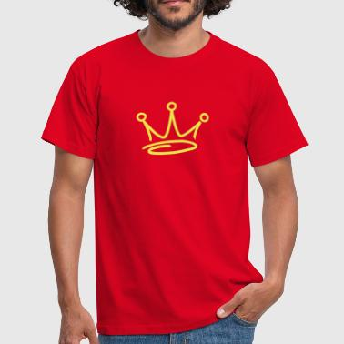 Hip Hop graffiti style crown - Men's T-Shirt