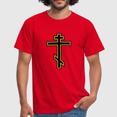 Orthodox Cross - Men's T-Shirt
