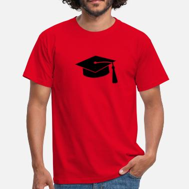 Universiteit graduation hat v2 - Mannen T-shirt