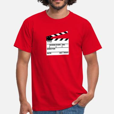 Script clapperboard (writable flex) - Men's T-Shirt